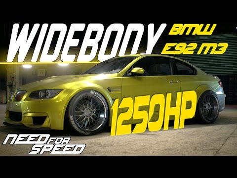 Need For Speed 2015 : 1250HP WIDEBODY BMW E92 M3 GRIP BUILD & CUSTOMIZATION