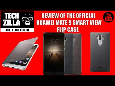 Official Huawei Mate 9 Smart View Flip Case Review