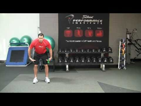Golf Fitness Hip Strength Exercise