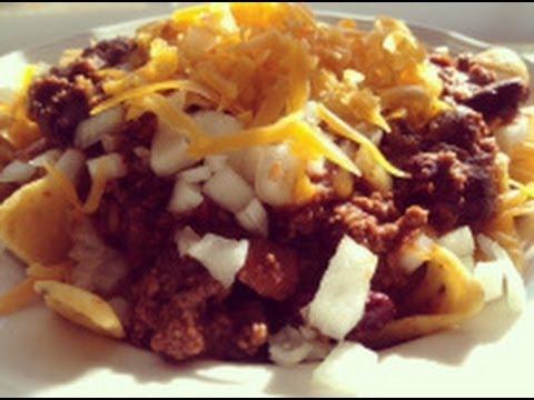 How to Make Texas Frito Chili Pie - Easy Recipe