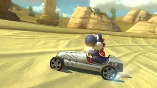 Wii U - Mario Kart 8 - (GCN) Dry Dry Desert