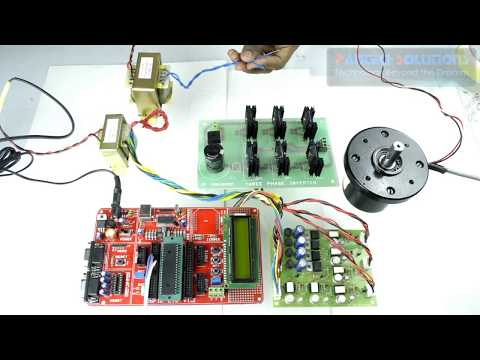 BLDC Motor Speed Control using DSPic development board