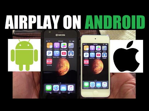 How to mirror Iphone Ipod Ipad to Android device via Airplay