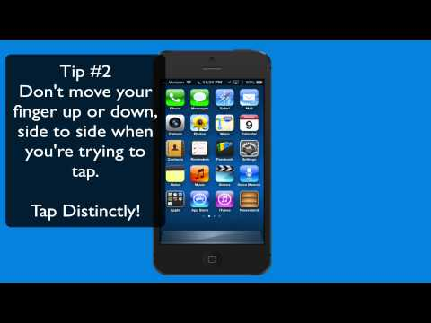 iPhone101-Introduction & Touching Your Screen