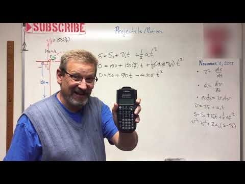 Dynamics - Lesson 7: Projectile Motion Introduction Example