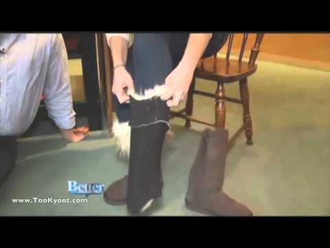 Too Kyoot Faux Fur boot toppers a hit in Connecticut!