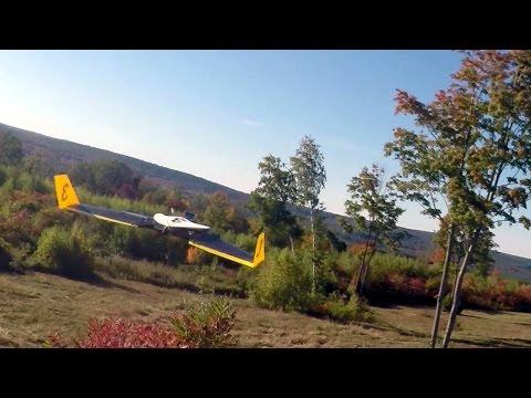 Drone Autonomously Avoiding Obstacles at 30 MPH