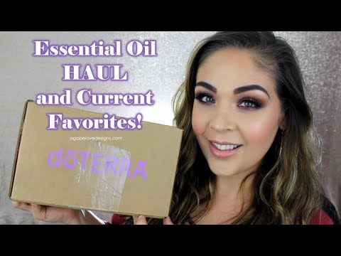 Doterra Essential Oil Haul and Current Favorites