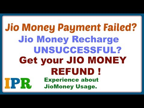 Jiomoney recharge refund | How to get refund of jiomoney? | Indian Product Reviewer