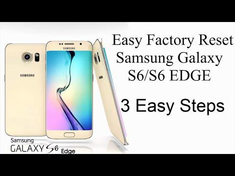 Hard Reset Galaxy S6/S6 EDGE+ Under 30 Seconds (Lost Password??)