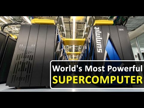 The World's Most Powerful Supercomputer Is An Pure Beast