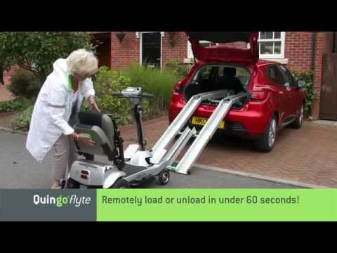 Quingo - Introducing the very portable 'Self-Loading' Quingo Flyte and in-car Docking Station System
