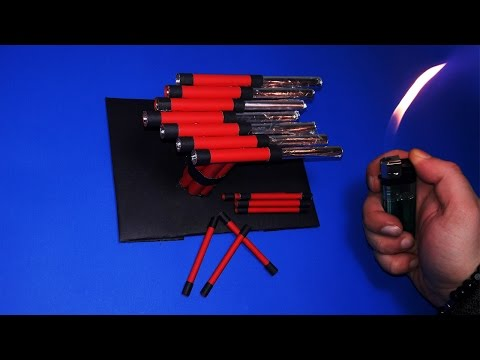 | DIY | How to Make a Paper Lightning Rocket Launcher-Toy Weapons-By Dr. Origami