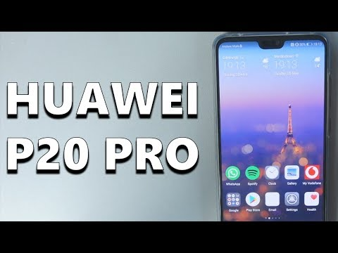 A Quick Look at the Huawei P20 Pro