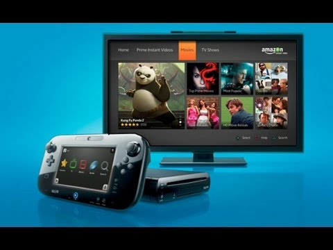 Wii U Amazon instant video and Youtube App review