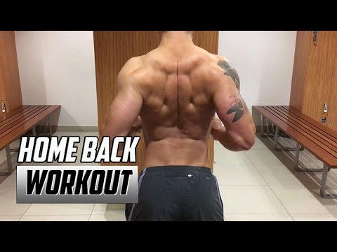 Home Back Workout - No Equipment | Back Exercises at Home Without Weights