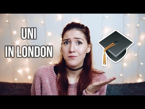 Studying in London - I'm going to Uni? #germangirlinlondon