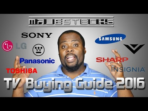 TV Buying Guide 2016 - 5 Tips for Buying a New TV