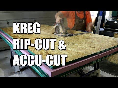 Kreg Accu-Cut and Rip-Cut Reviews