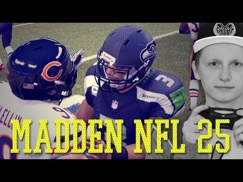 Madden NFL 25 [PS4] Spielvorstellung - Super Bowl Bears vs Seahawks + Fazit | Deutsch/German