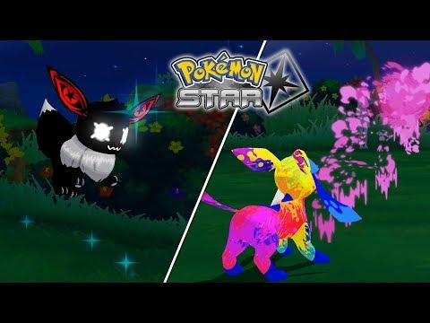 New Eeveelutions Showcase in Pokémon Star (3DS Rom Hack)