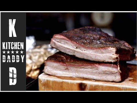 Smoked Pork Belly | Kitchen Daddy