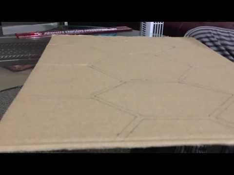 How to make a Ninja Turtle Shell with the cardboards.