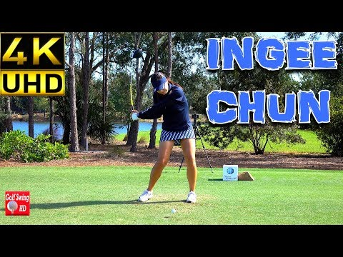 INGEE CHUN 4K SLOW MOTION FACE ON DRIVER GOLF SWING