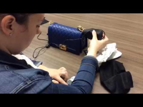 Entrupy Authentication, Chanel Boy Bag