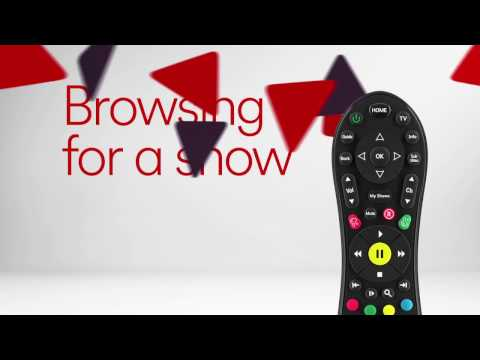 Browse for a Show on Virgin TV V6 box