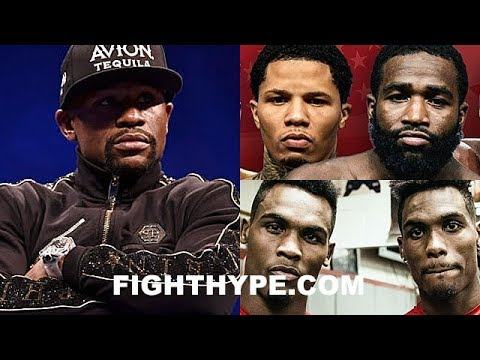 MAYWEATHER REACTS TO CHARLO BEEF WITH GERVONTA DAVIS & ADRIEN BRONER; GIVES ADVICE, OFFERS SIT-DOWN