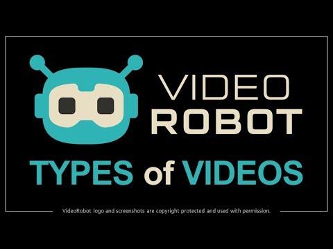 VideoRobot - 3D Avatar | Kinetic Text | Whiteboard Videos