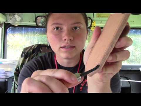 Simple Knife Sheath Part 2
