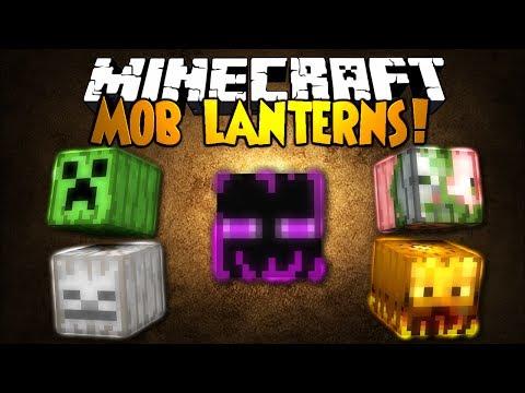 Minecraft Mod Showcase: MOB LANTERNS!