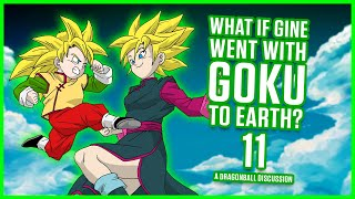 Download WHAT IF GINE WENT WITH GOKU TO EARTH? PART 11 | MasakoX Video