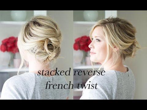 The Stacked French Twist Tutorial