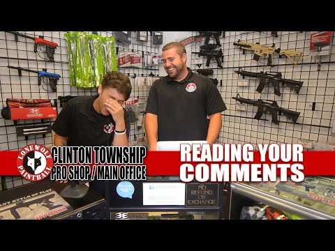 Reading & Responding to Your Comments | Lone Wolf Paintball Michigan