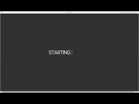 Type-On Text Effect (After Effects Tutorial)