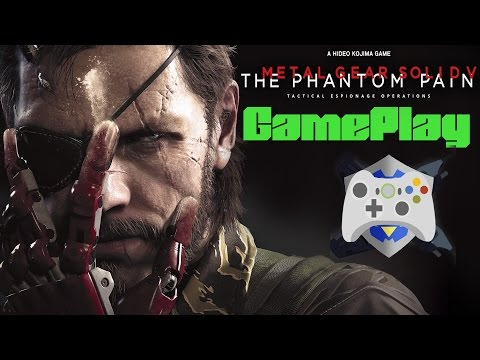 Metal Gear Solid V: The Phantom Pain GAMEPLAY