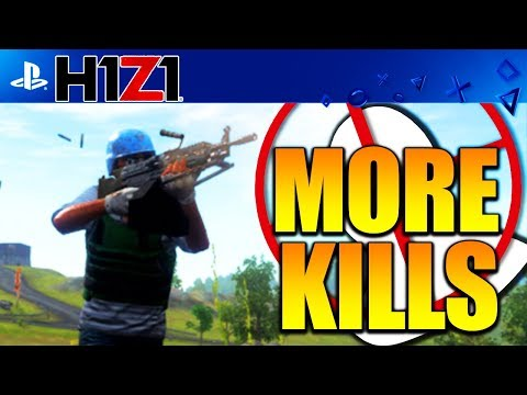 H1Z1 PS4  HOW TO GET MORE KILLS H1Z1 PLAYSTATION 4! BEST TIPS TO GET MORE KILLS (H1Z1 PS4 Open Beta)