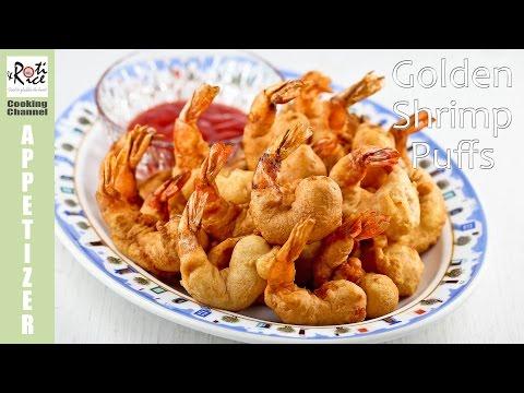 Golden Shrimp Puffs | Roti n Rice
