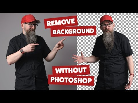 Remove background from image without Photoshop