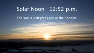 Winter Solstice - Beautiful ARCTIC Timelapse for the 2011 Winter Solstice