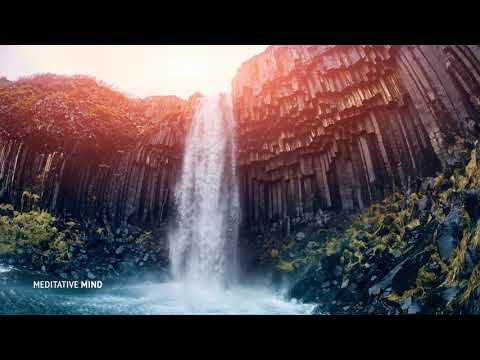 639 Hz Music with Waterfall Sounds || Soothe your Heart, Mind & Body || Solfeggio Frequency Music