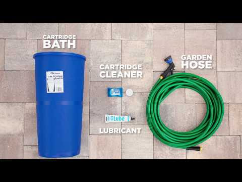 How to Clean a Pool Cartridge Filter