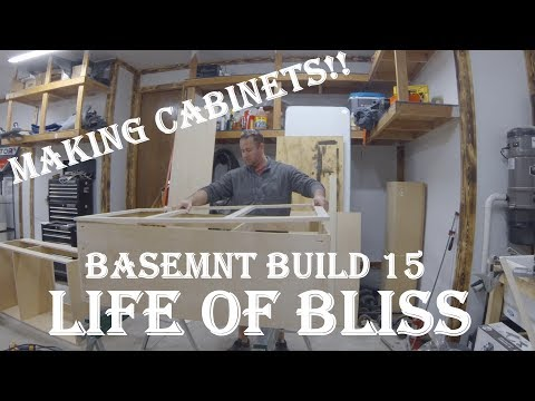 Making Built-In Cabinets | Basement Build 15