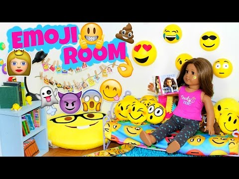 American Girl Doll Emoji Bedroom