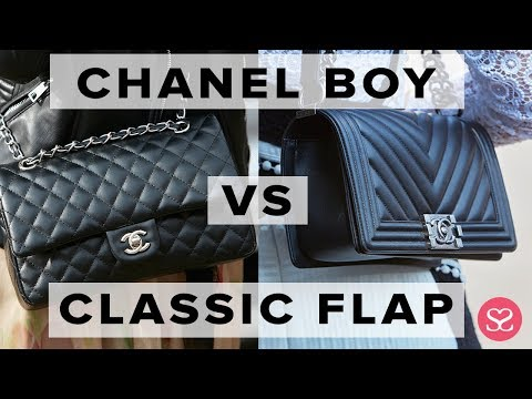 WHICH TO BUY FOR INVESTMENT?   Chanel Boy vs Classic Flap   Sophie Shohet