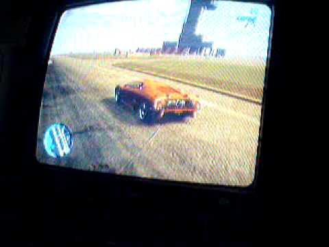 Red/orange Lamborghini! 360 flat ground!GTA IV