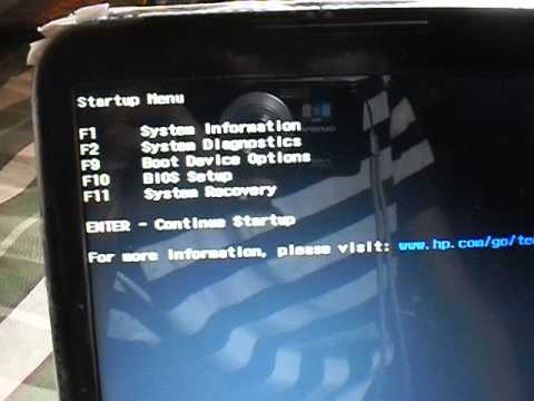 How to Go to the BIOS settings